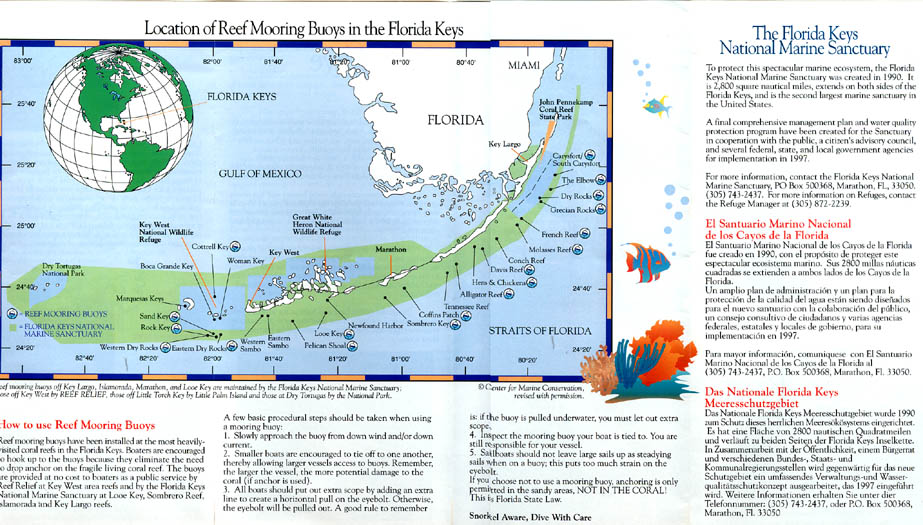 Florida reef mooring buoy program in key west click to open full chart in new gumiabroncs Images