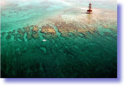 Sand Key Lighthouse Reef.
