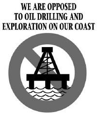 Click Here for our Blog - We are opposed to oil drilling and exploration on our coast.
